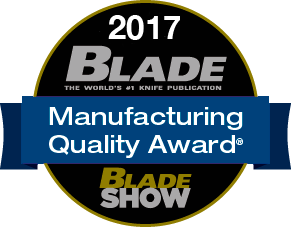 2017 Blade Manufacturing Quality Award