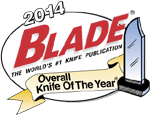 2014 Blade Overall Knife of The Year