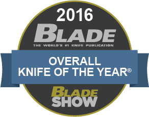 2016 Blade Overall Knife of The Year