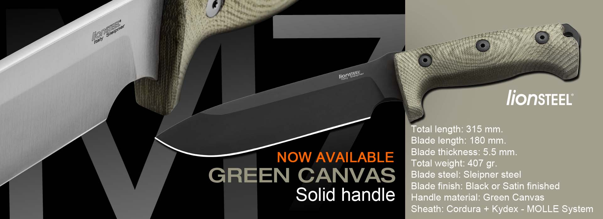 M7 green canvas