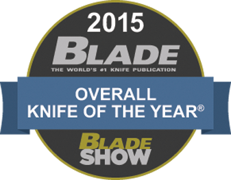 2015 Blade Overall Knife of The Year