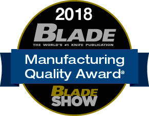 2018 Blade Manufacturing Quality Award
