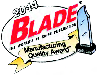 2014 Blade Manufacturing Quality Award